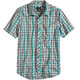 Prana M's Elliot Slim Fit Shirt Deep Teal